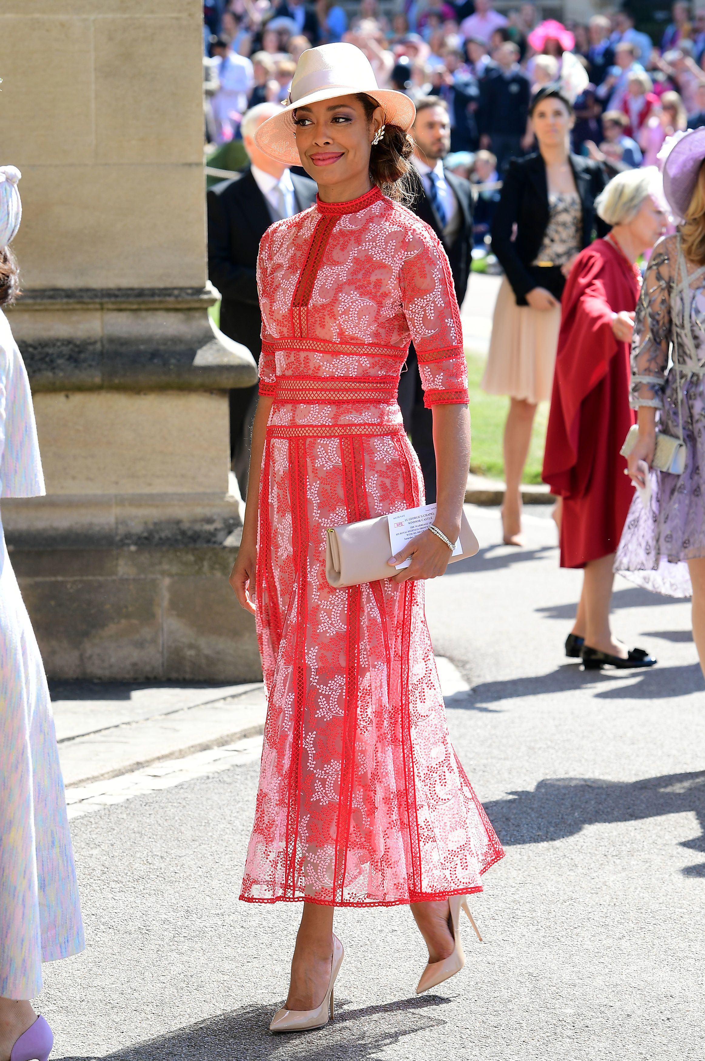 588e87f8 The 32 Best Dressed Guests At Prince Harry and Meghan Markle's Royal Wedding