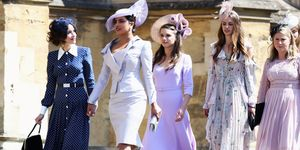 Suits Cast Royal Wedding Arrival