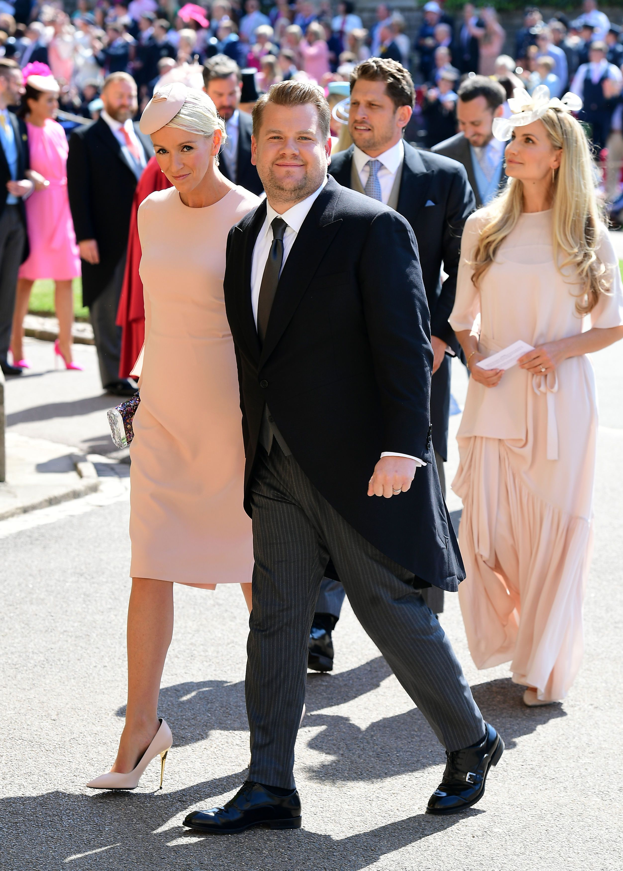 royal wedding 2018 James Corden Julia Carey