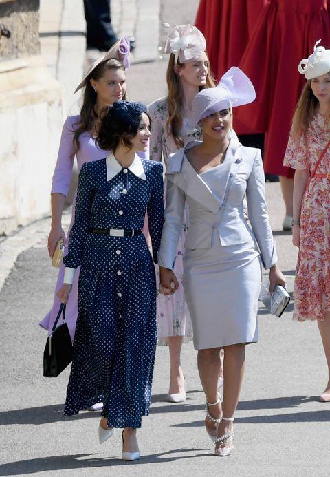 Priyanka Chopra Wears Dior Princess Dress For Meghan Markle And