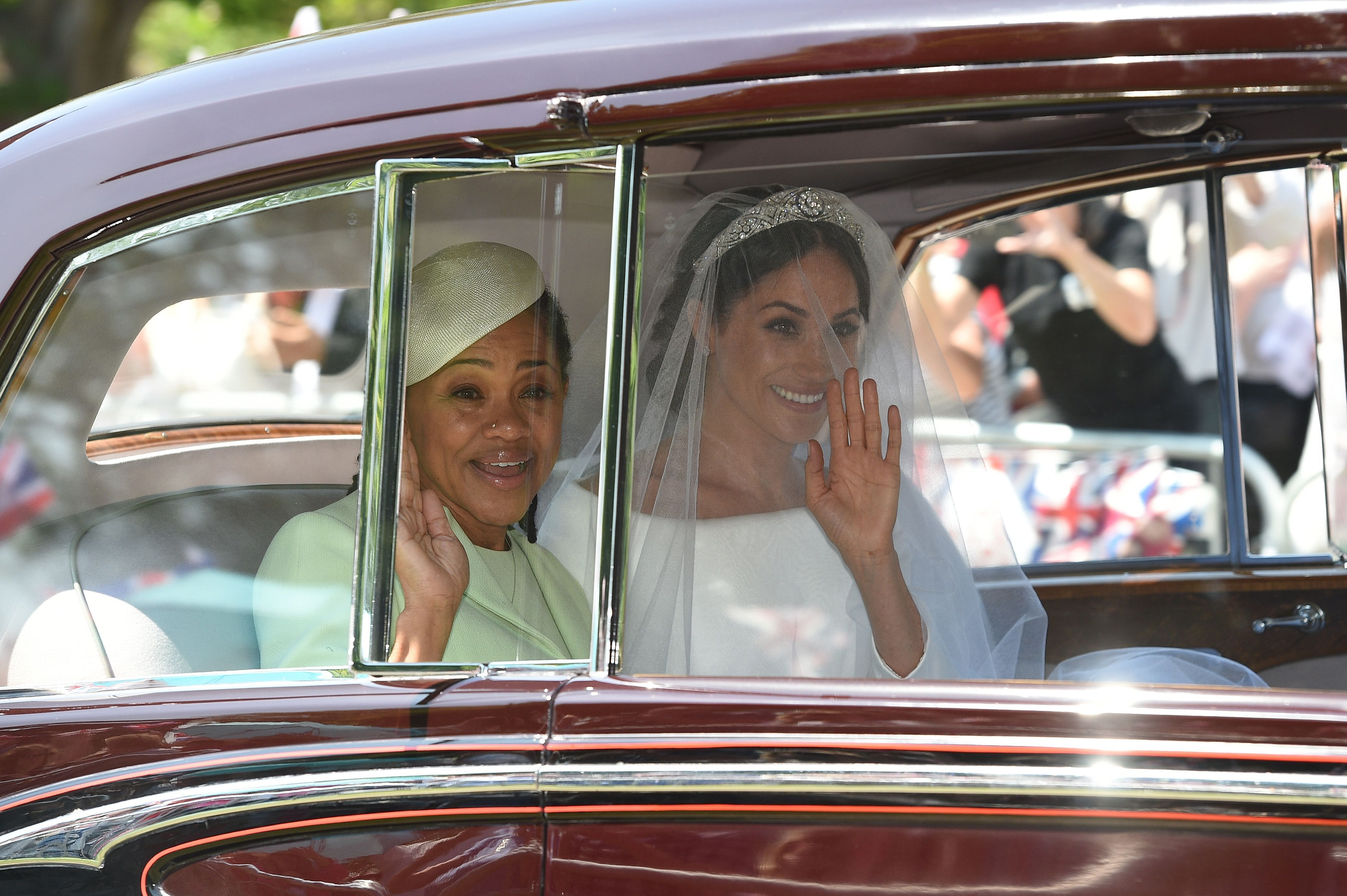 Meghan Markle And Her Mom Doria Ragland S Best Photos Together At The Royal Wedding