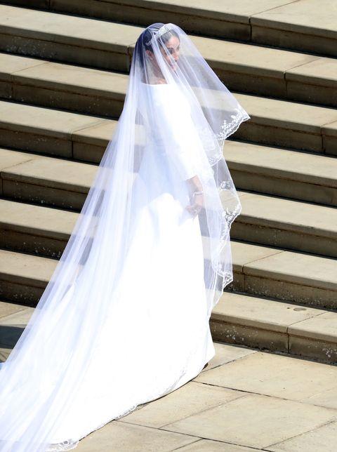 2e3e83044416 Meghan Markle Wears Second Wedding Dress By Stella McCartney