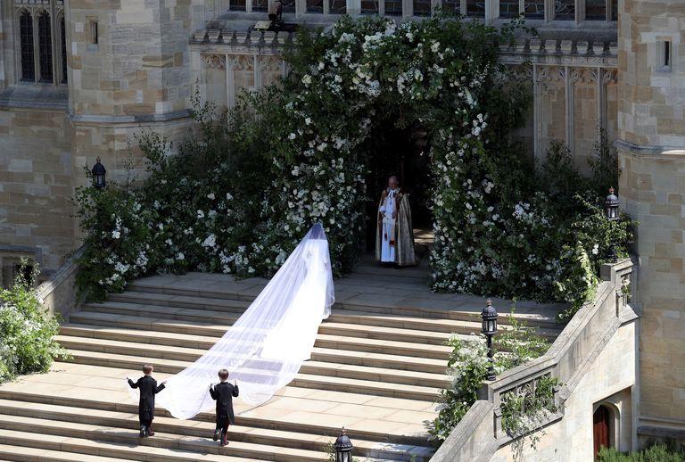 Image result for meghan markle veil wedding pictures