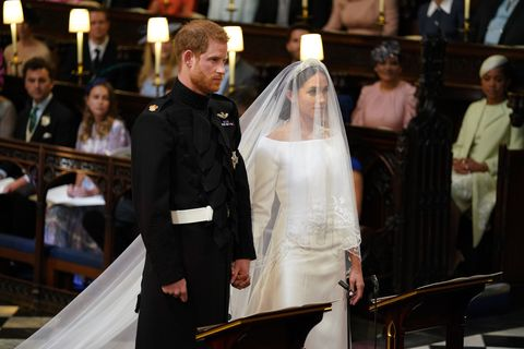 Meghan Markle and Prince Harry Wed in Windsor Chapel