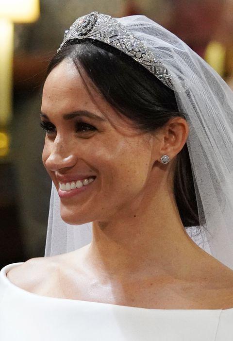 Meghan markle royal wedding tiara meghan markle crown jewels meghan markles tiara at the royal wedding to prince harry junglespirit Images