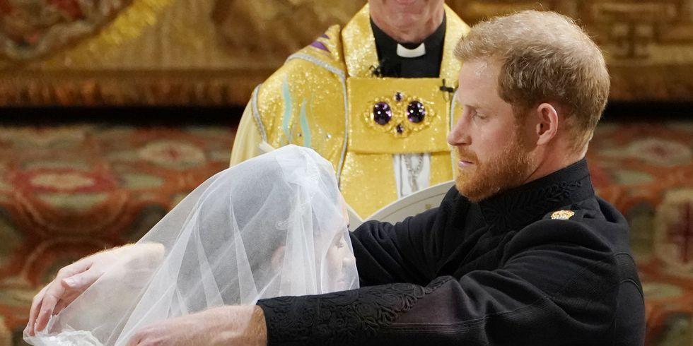 Prince Harry meghan markle veil