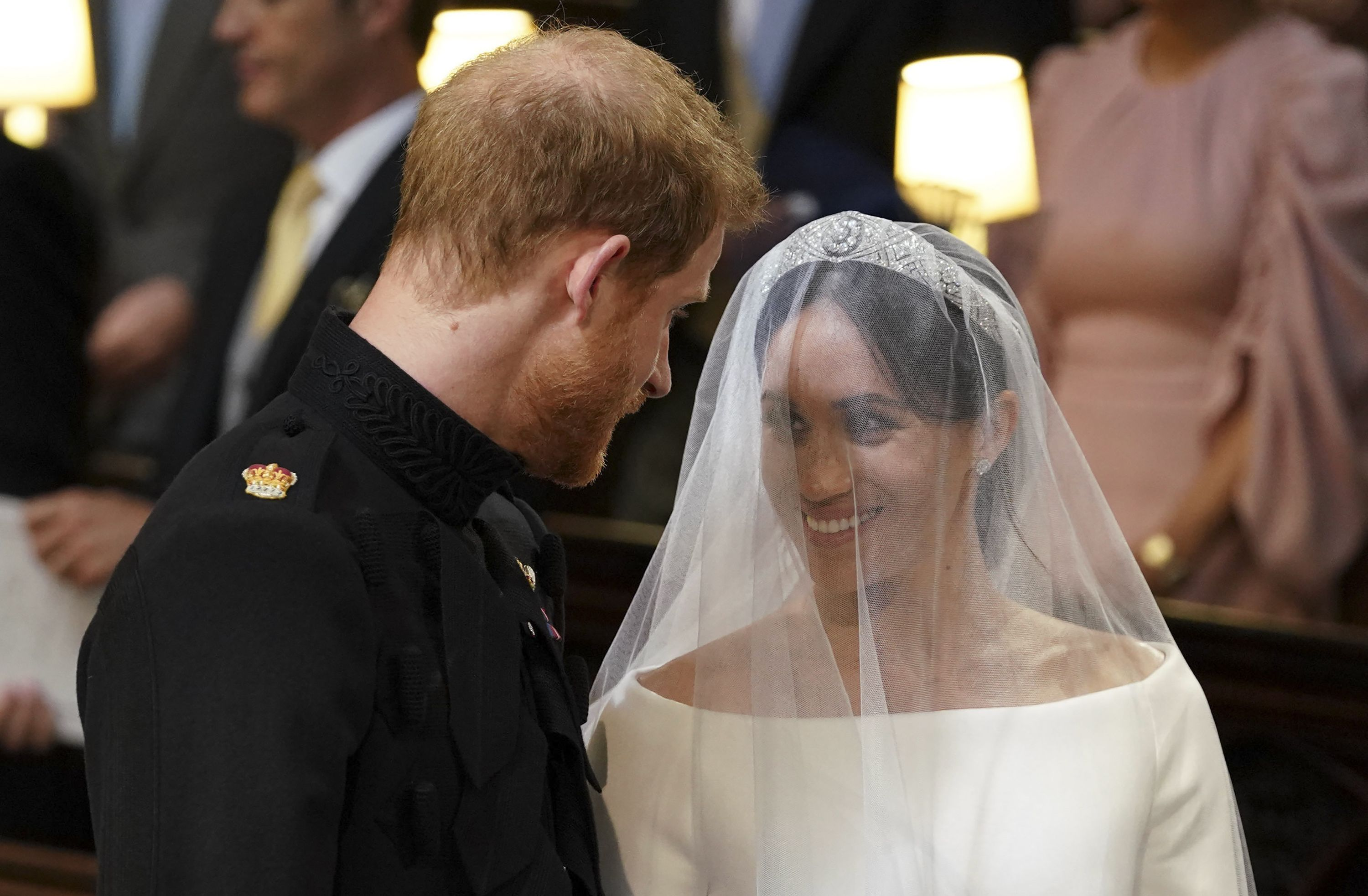 Prince Harry Picked The Flowers In Meghan Markles Bridal Bouquet At