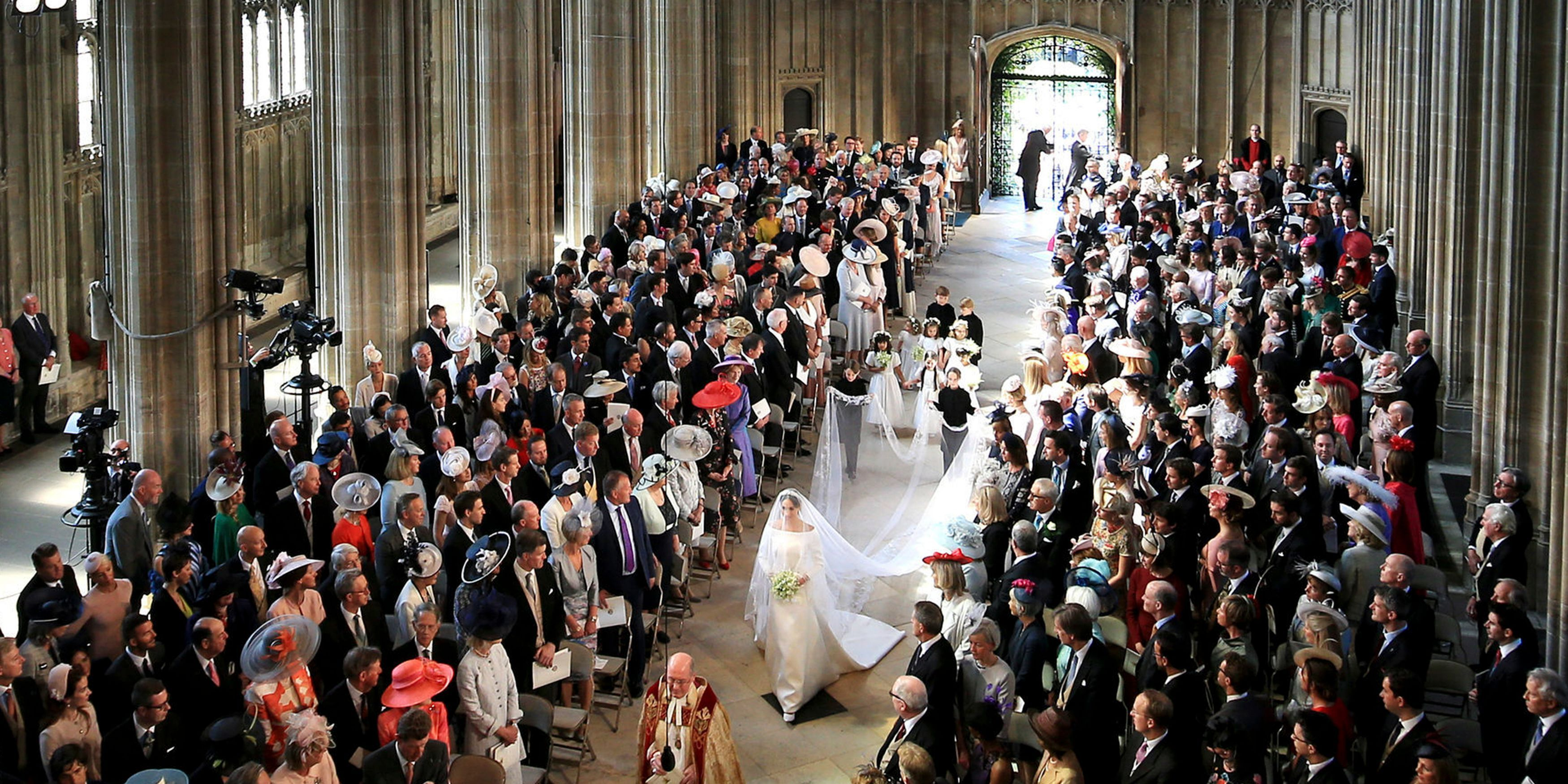 See Prince Harry and Meghan Markle's Royal Wedding Bridal Procession