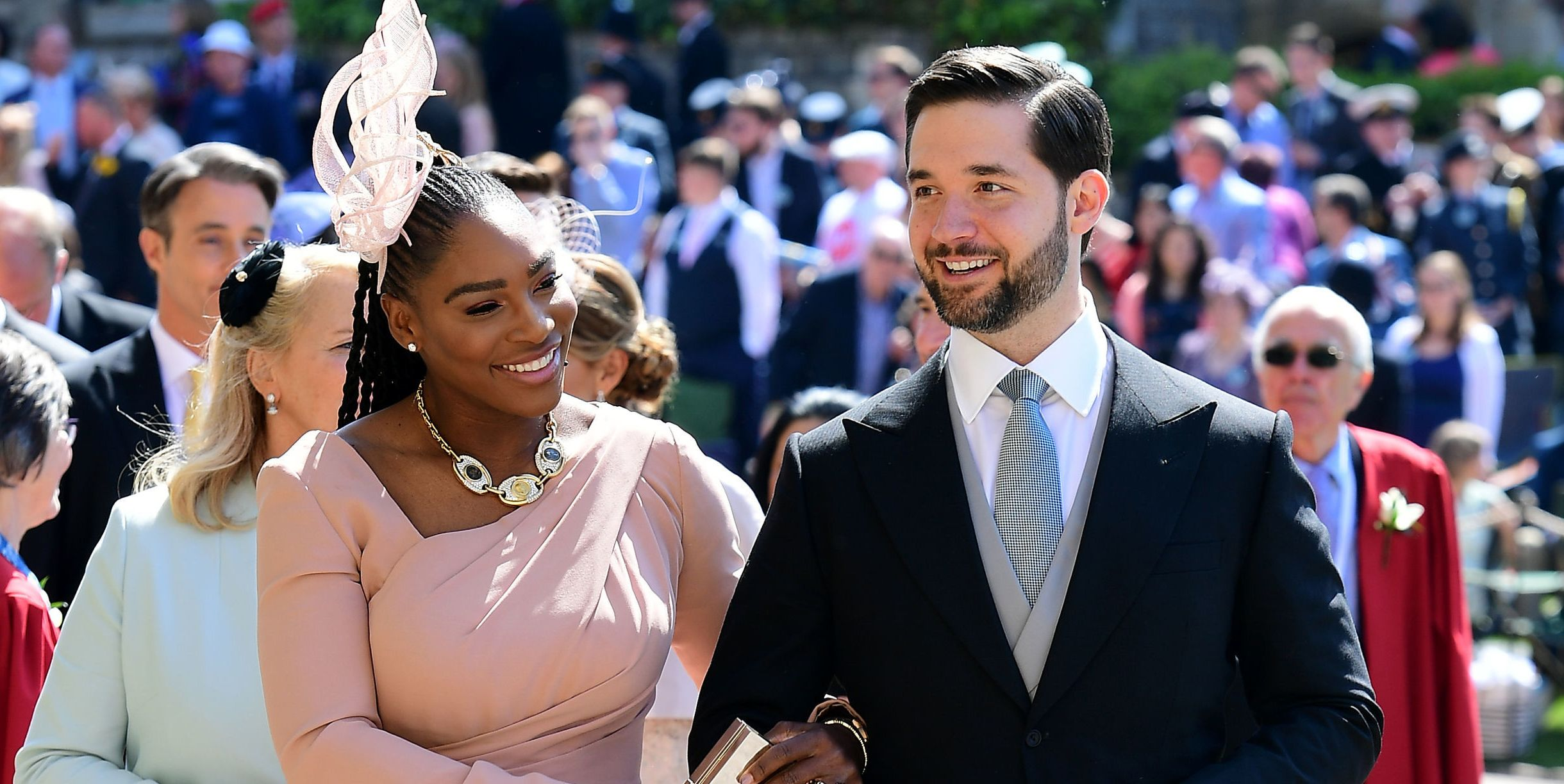 Royal Wedding 2018 Serena Williams Alexis Ohanian