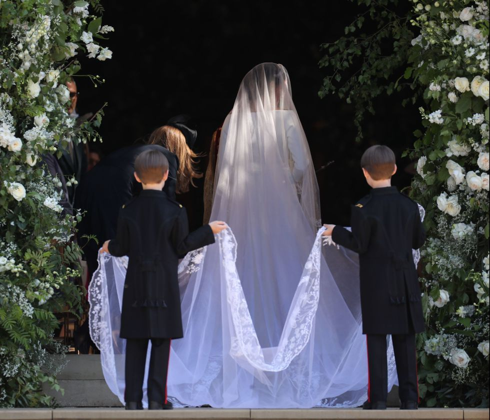 Meghan Markle And Prince Harrys Royal Wedding Hidden Messages And