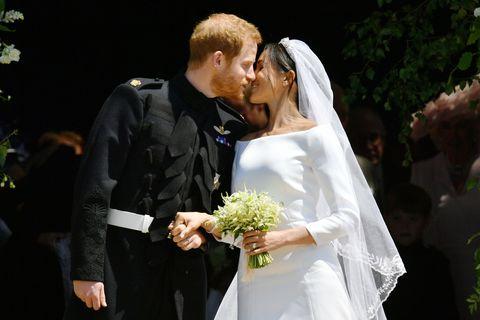 See Meghan Markle\'s Wedding Reception Dress — Meghan Markle Second ...