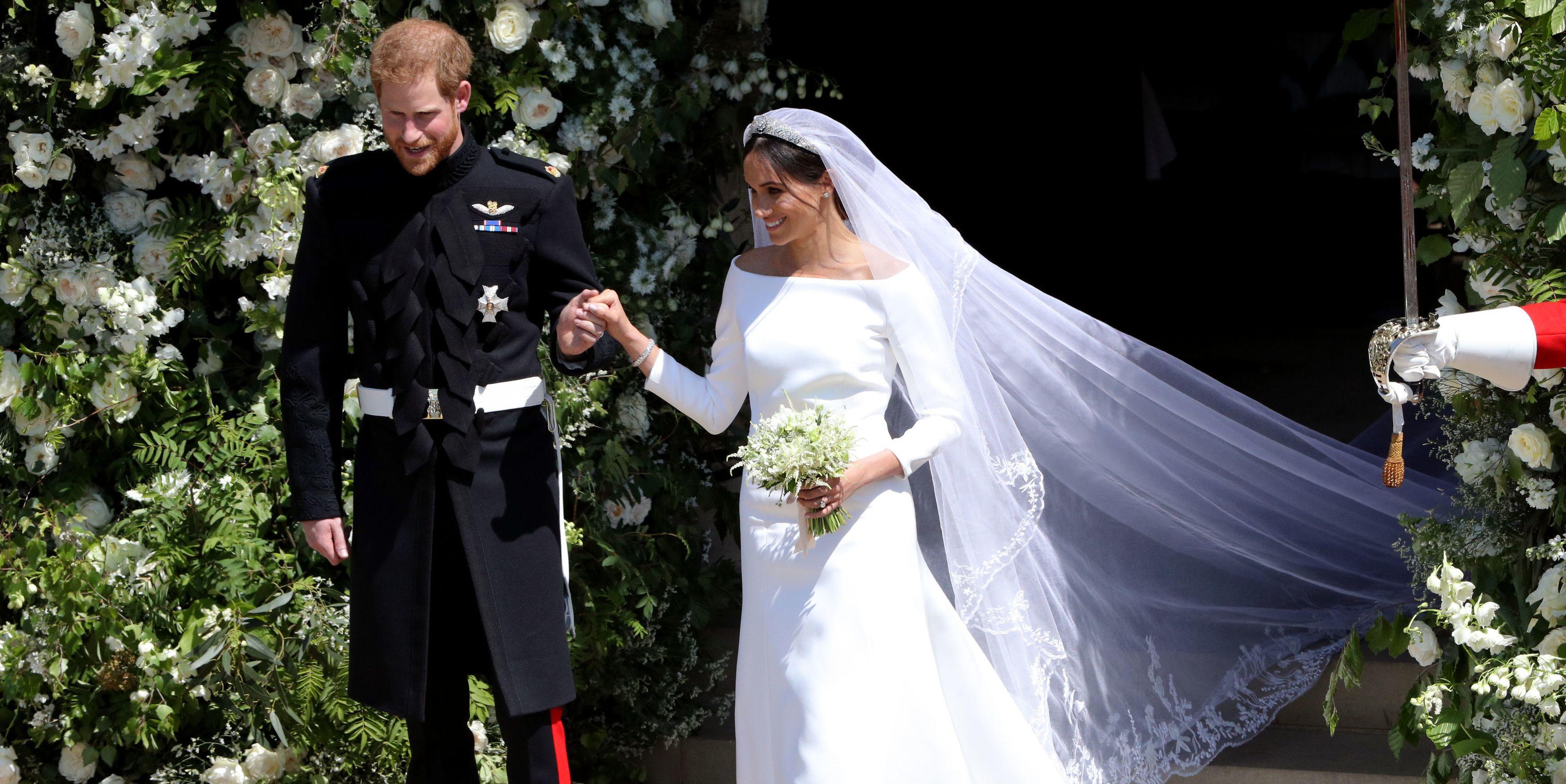 Meghan Markle's Givenchy wedding dress