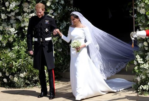 Meghan Markle S Givenchy Wedding Dress