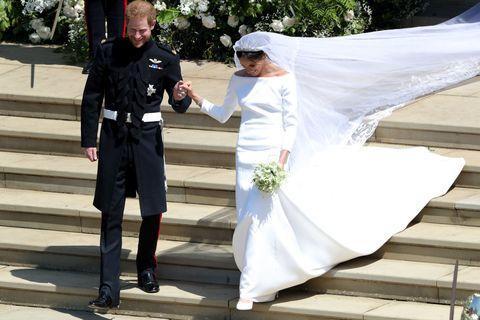 Meghan Markle Givenchy Wedding Dress