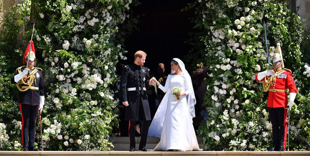 2515e78034eb4 Meghan Markle wedding dress details - Clare Waight Keller for Givenchy
