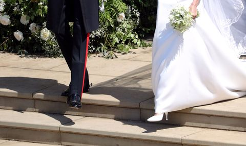 meghan markle wedding shoes