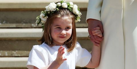 Child, White, Clothing, Hair accessory, Headpiece, Dress, Ceremony, Bridal party dress, Smile, Wedding ceremony supply,