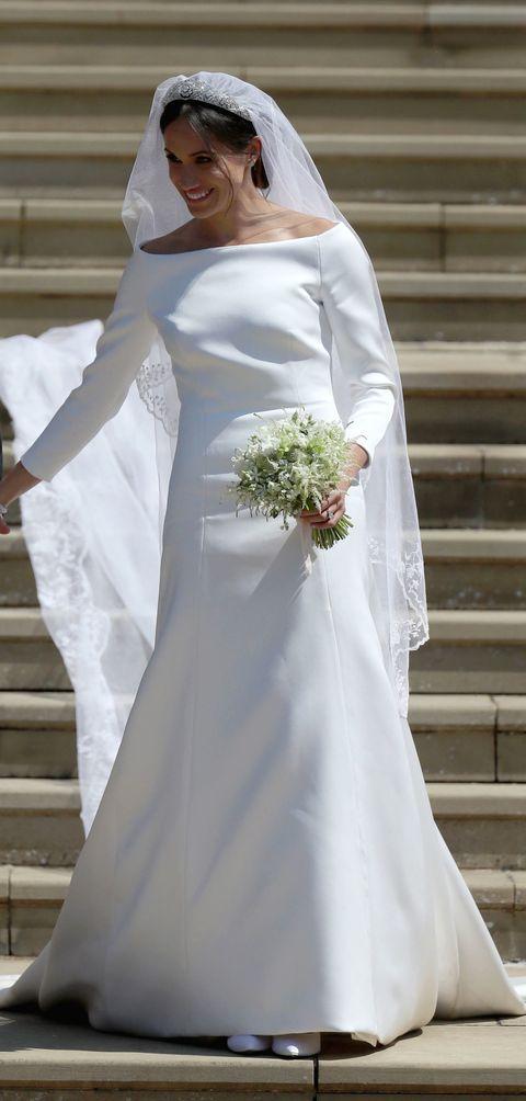 Designer Emilia Wickstead Accuses Meghan Markle\'s Wedding Dress of ...