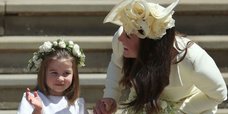 prince george and princess charlotte 39 s cutest royal wedding photos as page boy and bridesmaid. Black Bedroom Furniture Sets. Home Design Ideas