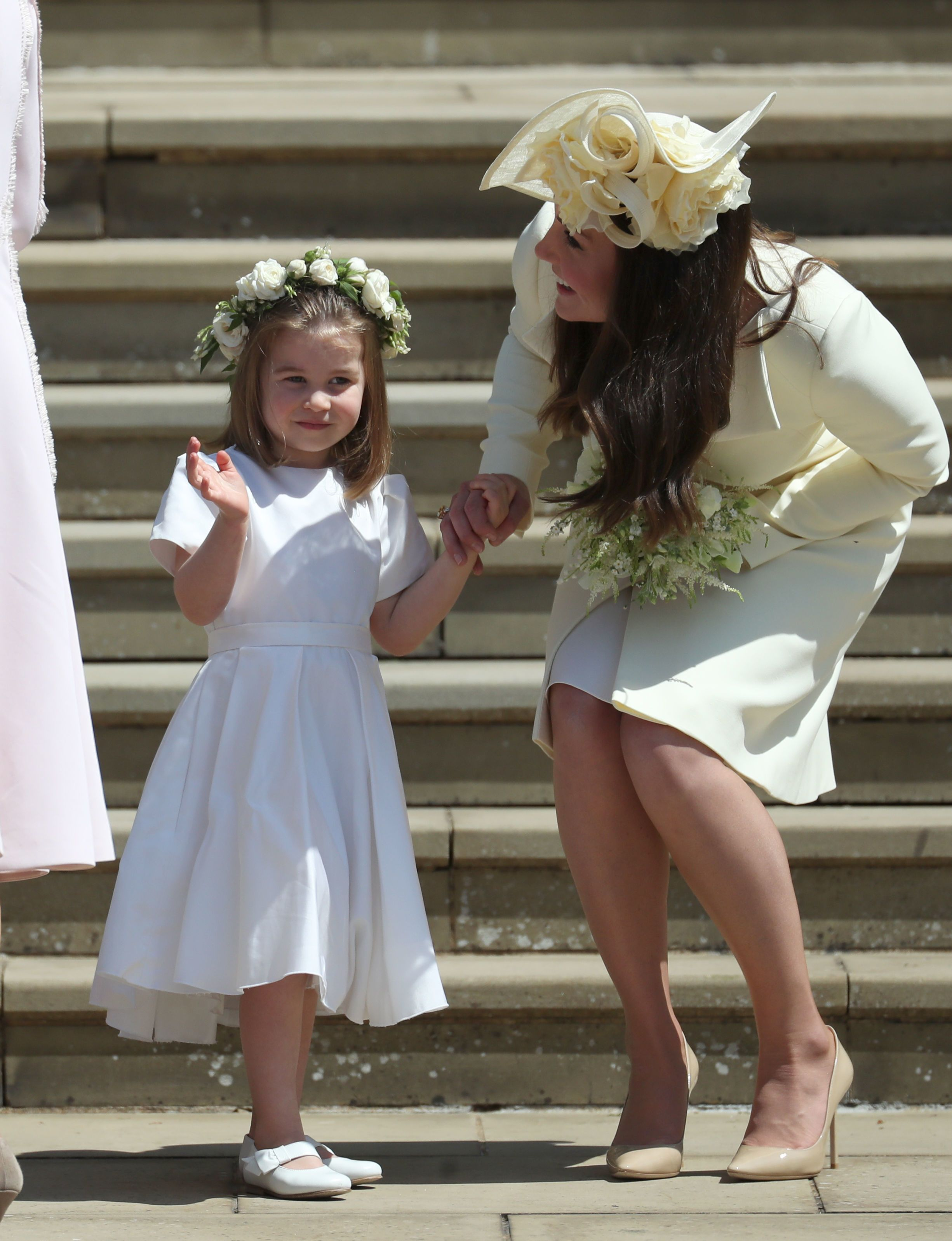 Prince george and princess charlottes cutest royal wedding photos prince george and princess charlottes cutest royal wedding photos as page boy and bridesmaid izmirmasajfo