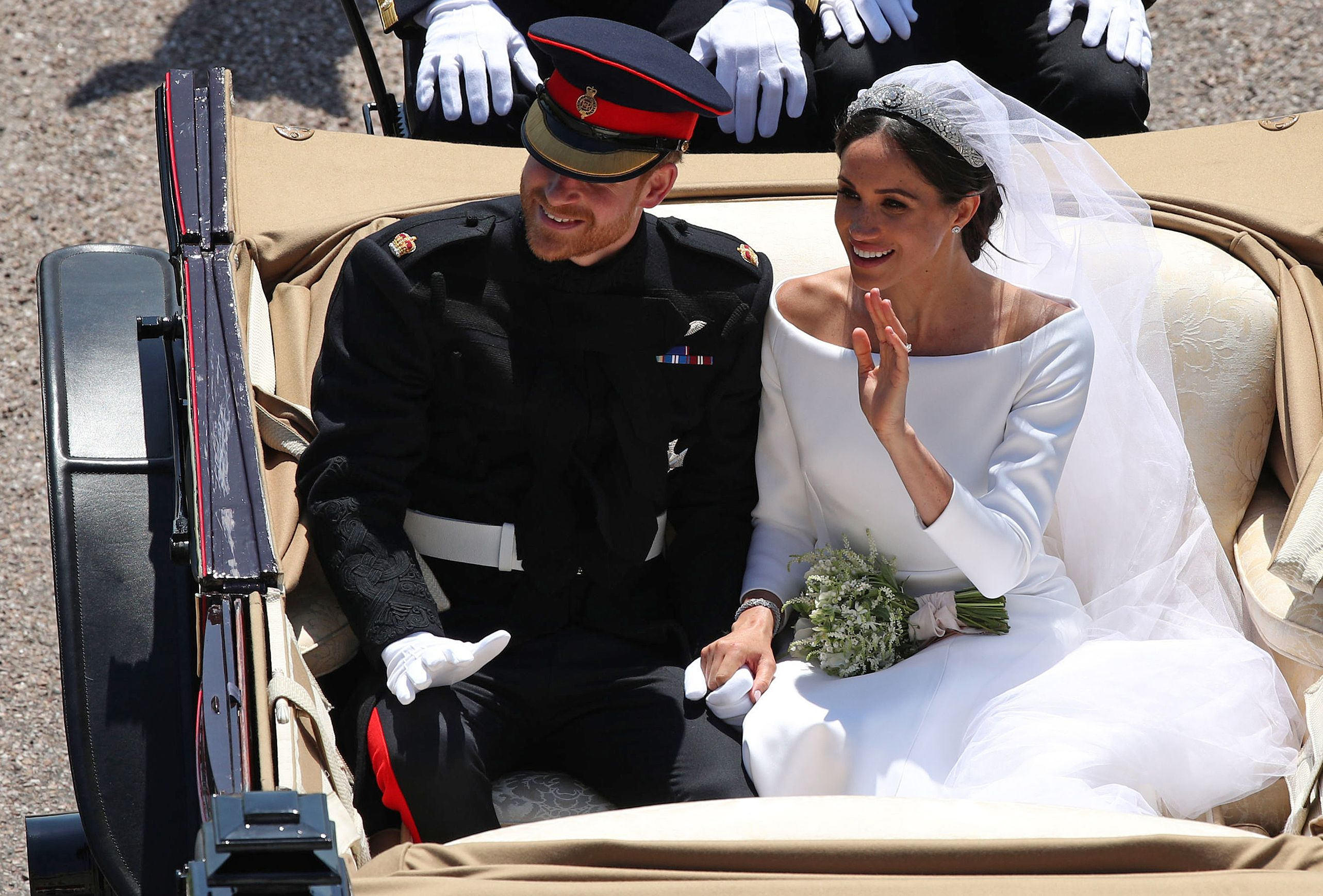 meghan markle prince harry wedding photos