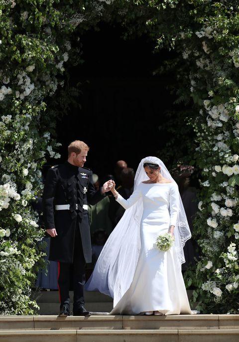 英國皇室婚禮,哈利王子, 婚禮, 婚紗, 梅根馬可爾, 皇室婚禮, 結婚, 英國皇室, 品牌,故事,紀梵希,Givenchy,王子,王妃,白紗,設計師