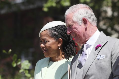 Meghan Markle S Mother S Dress At The Royal Wedding Doria Ragland S Outfit At Meghan Markle S Wedding