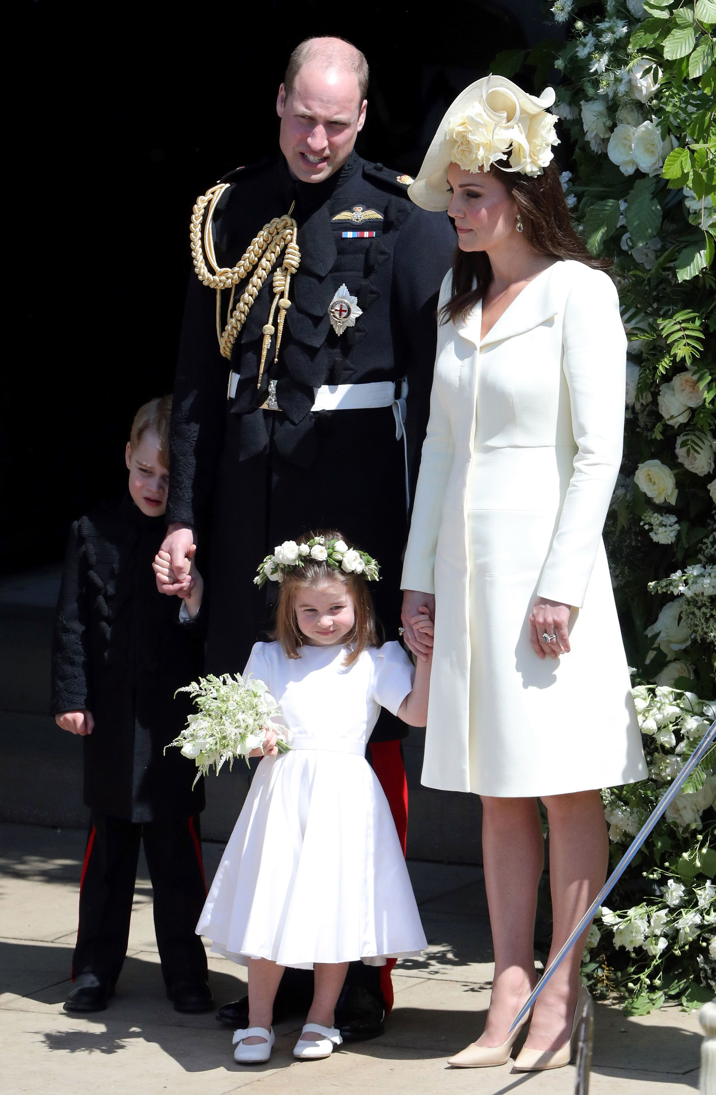 Kate Middleton Royal Wedding Outfit What Did Wear To Meghan Markle Prince Harry S