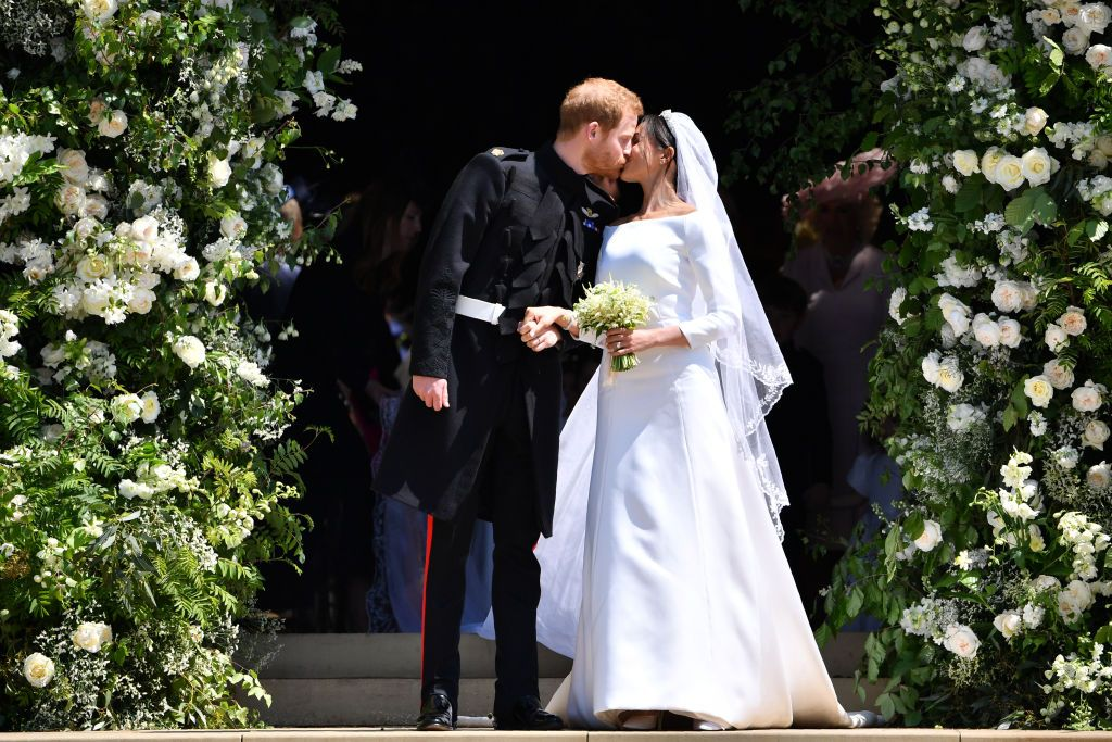 Meghan Markle And Prince Harry Celebrate One Year Wedding Anniversary With Previously Unseen Photos