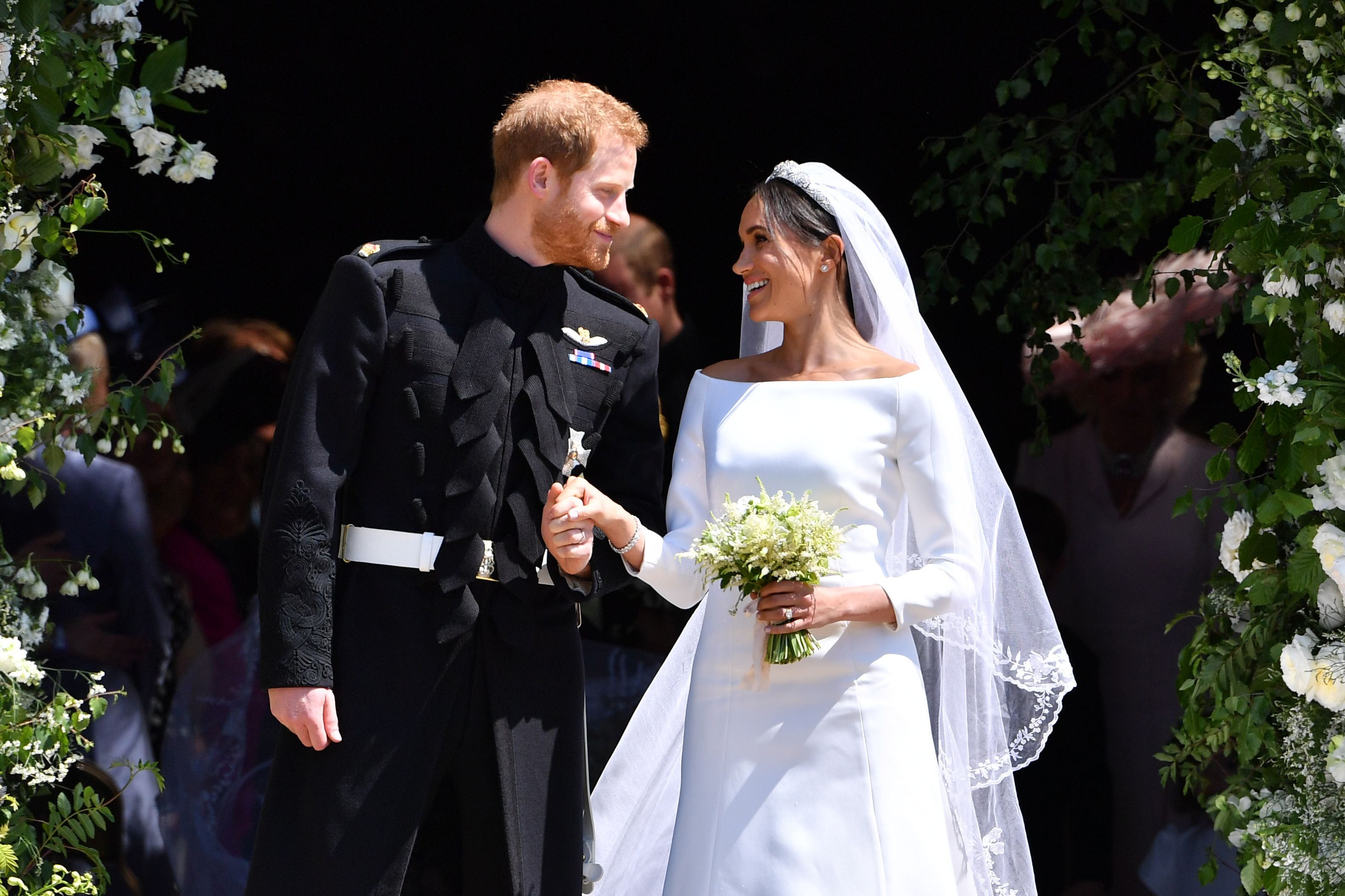 prince harry and meghan markle s wedding outfits will go on public display prince harry and meghan markle s