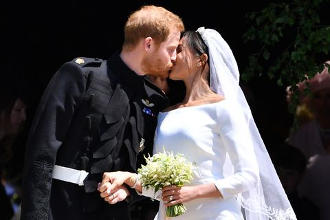 Bride, Marriage, Ceremony, Wedding dress, Wedding, Event, Bridal clothing, Interaction, Formal wear, Dress,