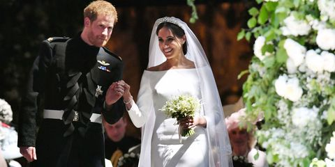 Meghan Markle\'s Wedding Bouquet Came Courtesy of a Mystery Woman in ...