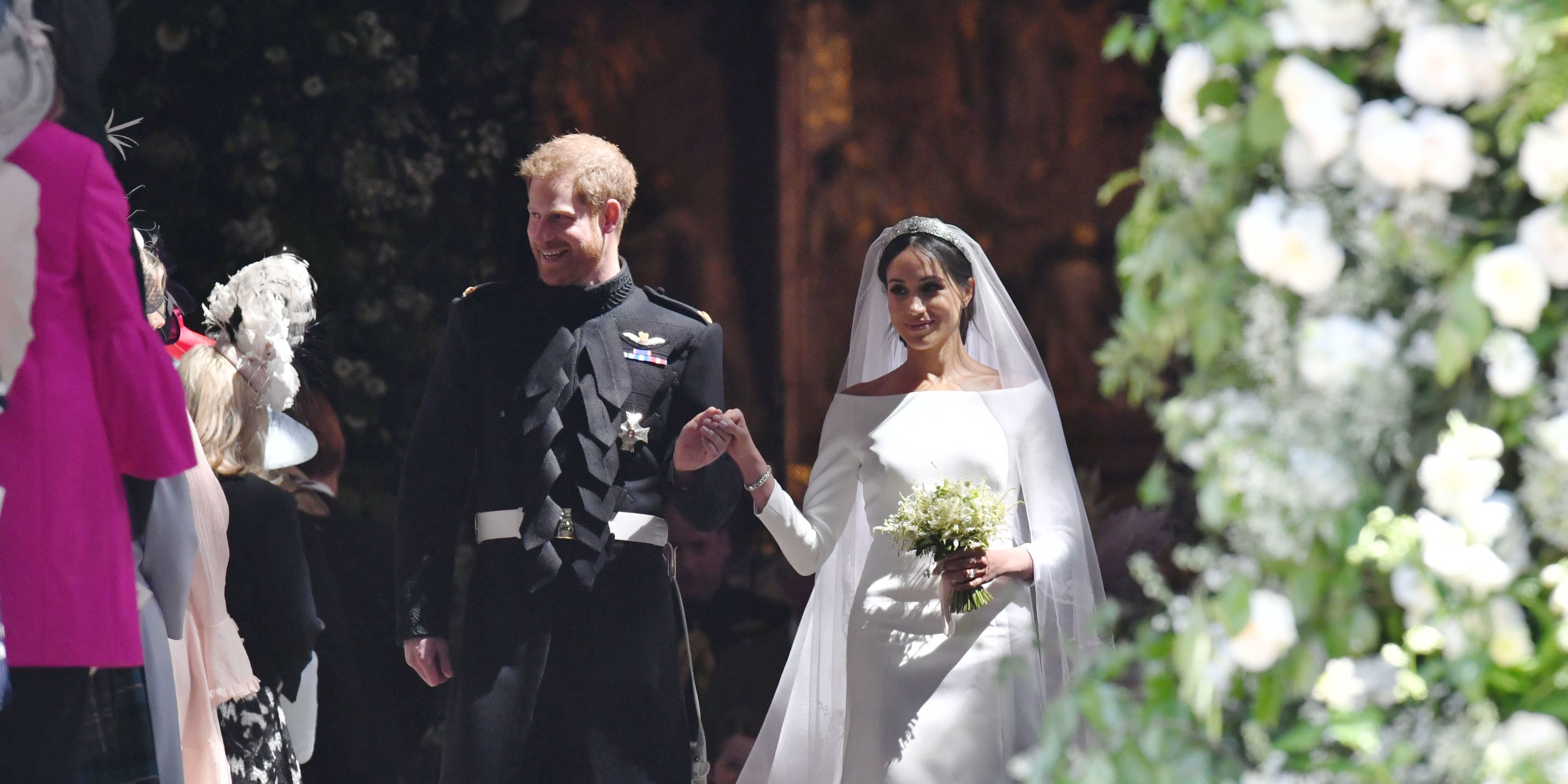"""Meghan Markle called Harry """"my Prince"""" in her wedding toast"""