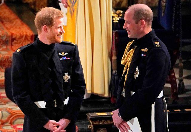 ウィリアム王子とハリー王子