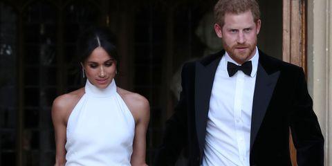 2a649b1a9d9 Royal Wedding  Meghan Markle Changes Into Stunning Stella McCartney Dress  For Reception