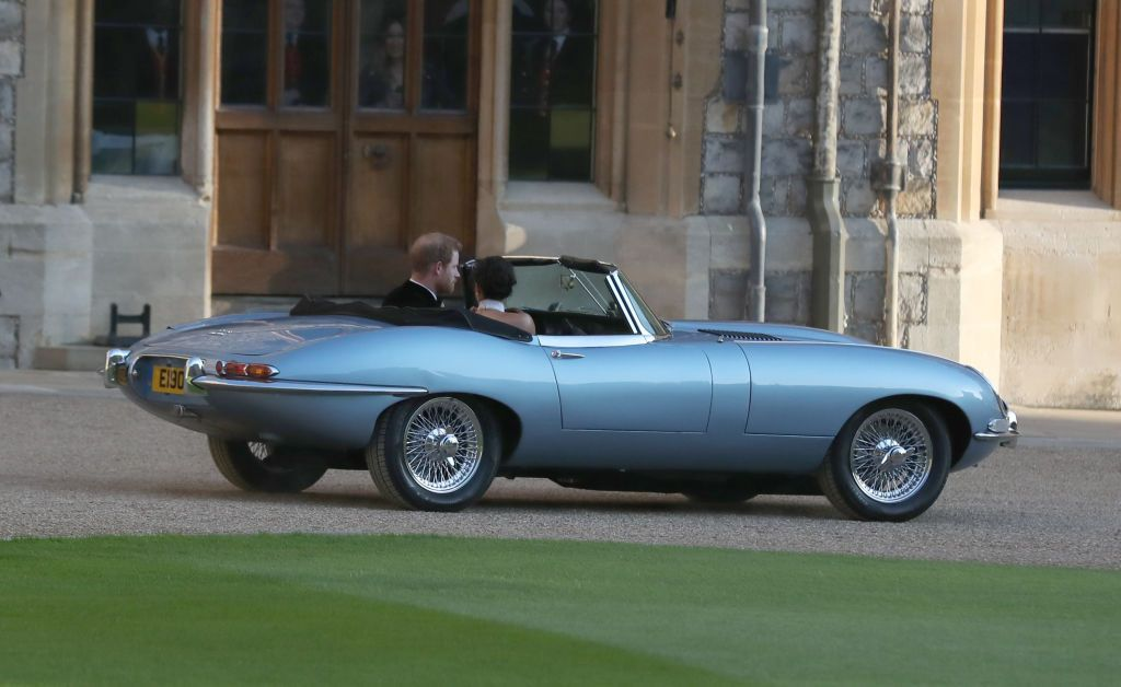 The Unusual Detail You Might Have Missed About Prince Harry's Wedding Reception Car