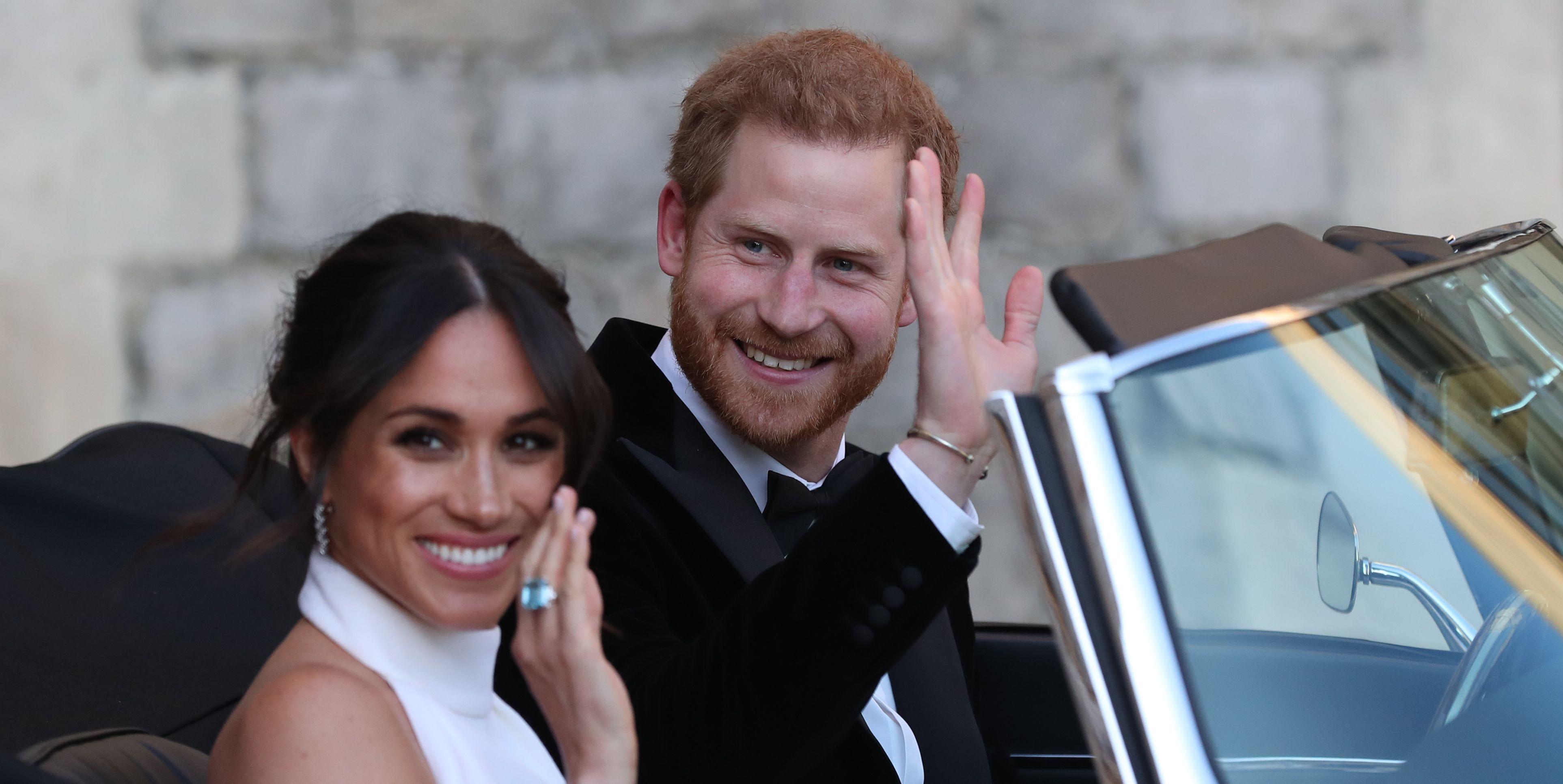 Meghan Markle Prince Harry Wedding Reception