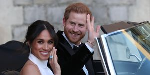 Meghan Markle Prince Harry Wedding Reception