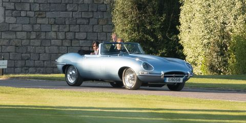 Royal Wedding Electric Jaguar E Type Details What To Know About Meghan And Harry S Car