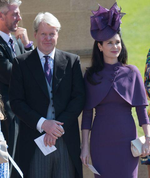 Purple, Event, Headgear, Formal wear, Dress, Gesture,