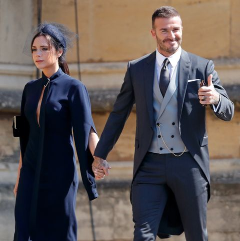 Image Getty Images Victoria Beckham Attended Prince Harry And Meghan Markle S Royal Wedding