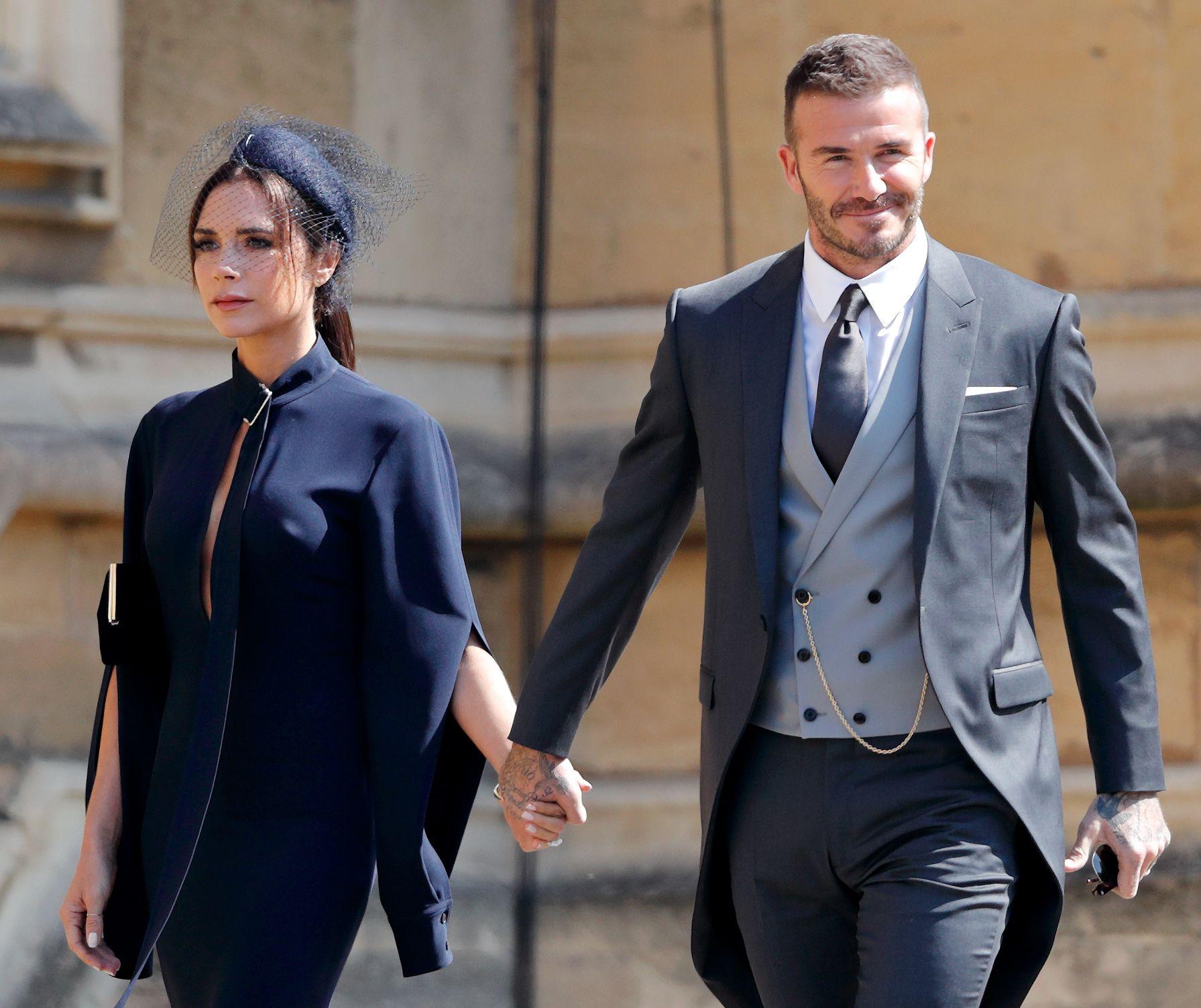 Victoria Beckham Says Royal Wedding Made Her Proud To Be British David Instagram