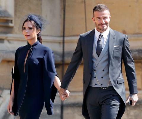 David E Victoria Beckham Festeggiano Il 19esimo Anniversario