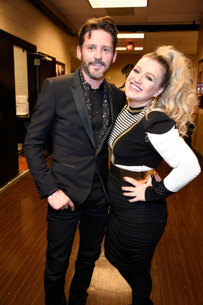 Kelly Clarkson and Brandon Blackstock were introduced through Clarkson's manager