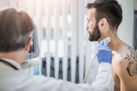 Escaner de cuello