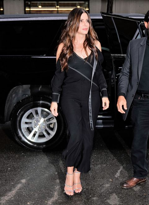 Sandra Bullock en la fiesta posterior a la premier de 'Ocean's 8' en Nueva York