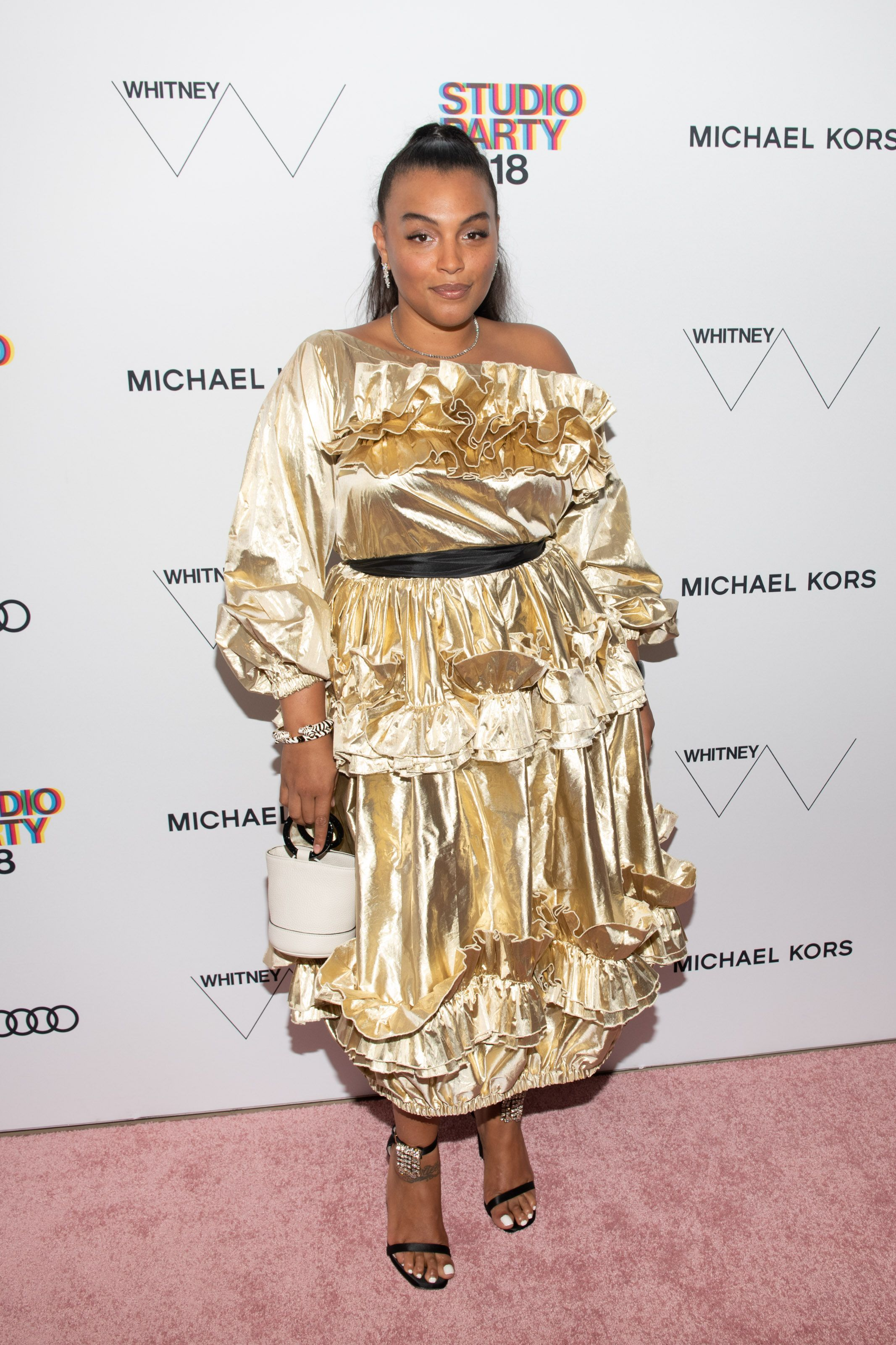 Paloma Elsesser in Molly Goddard