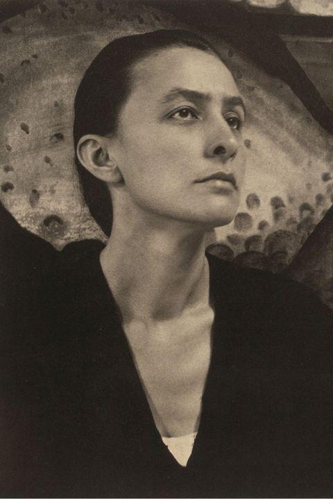 Portrait Of Georgia Okeeffe (1887-1986) ,