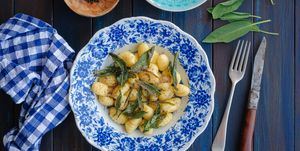 Gnocchi with Sage, Butter and Pepper