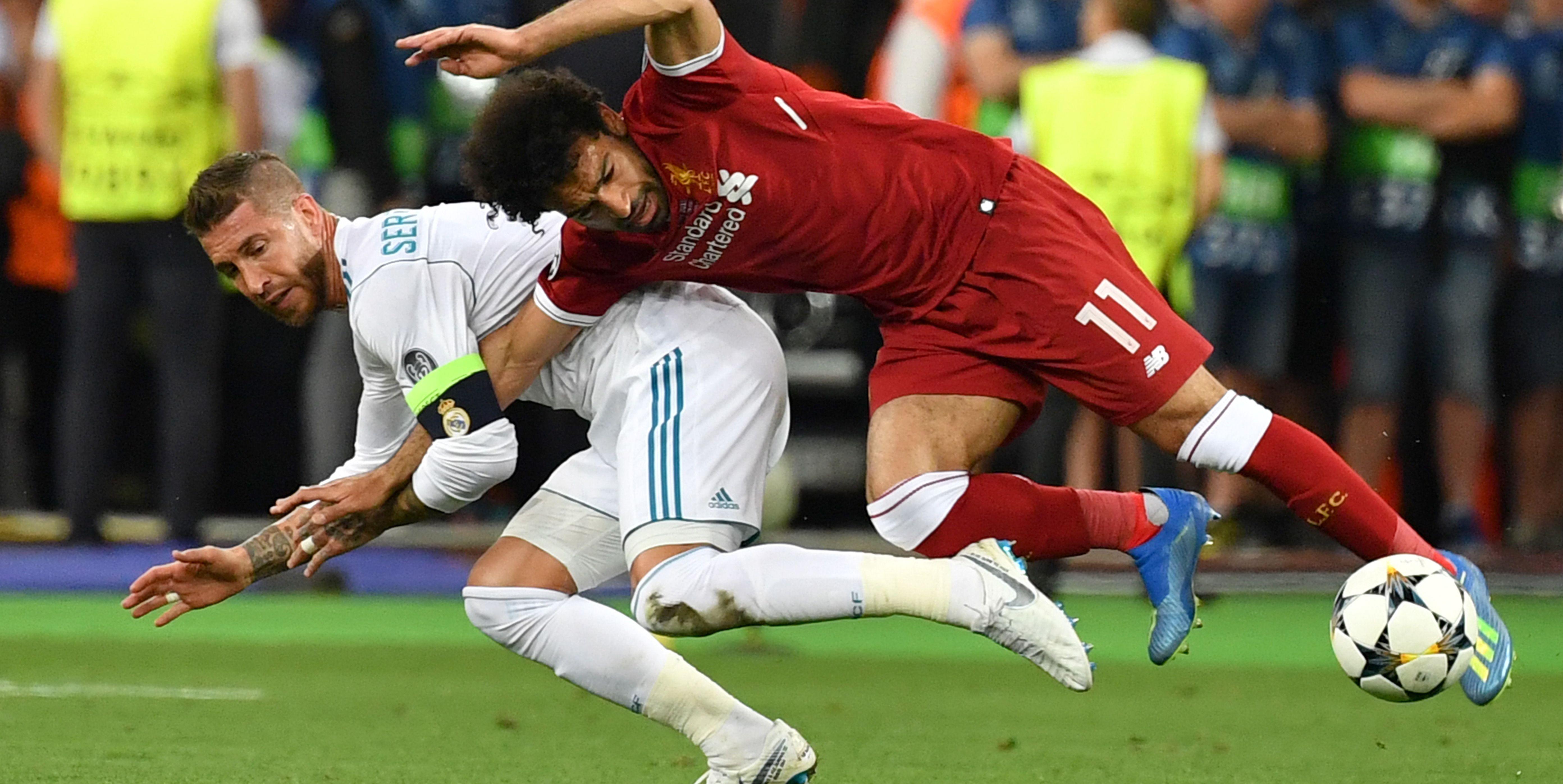Mo Salah Sergio Ramos Champions League